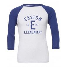 Bella+Canvas 3200 3/4 Sleeve Baseball Spirit T-Shirt