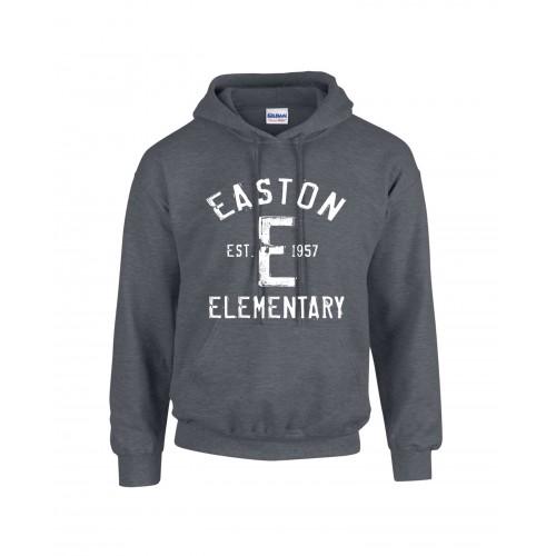 Gildan G185 Heavy Blend Pullover Hooded Sweatshirt - Dark Heather