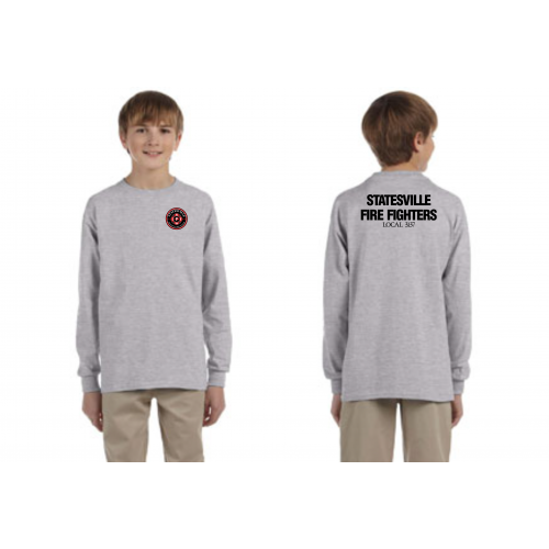 SPFFA Local 3137 Youth Long Sleeve T-Shirt G240B