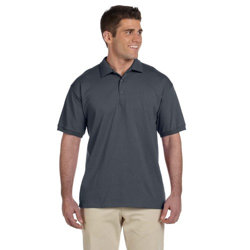 Charcoal Gildan Jersey Polo