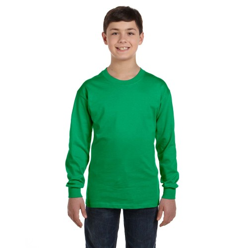 Youth Heavy Cotton® LS