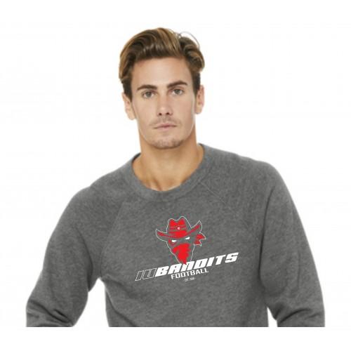 Bella+Canvas 3901 - Iredell United Bandits Uni-Sex Spirit Sweatshirt