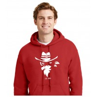 G18500 Red Uni-Sex Iredell United Bandits Hoodie