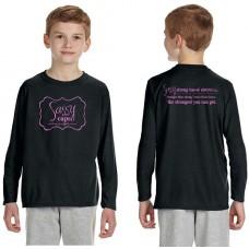 Sassy Caps Youth Long Sleeve T-Shirt