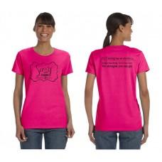 Sassy Caps Adult Short Sleeve T-Shirt