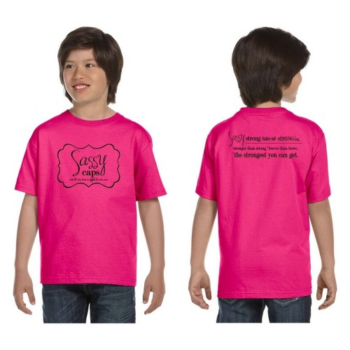 Sassy Caps Youth Short Sleeve T-Shirt
