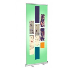 Banner Stand (Silver)