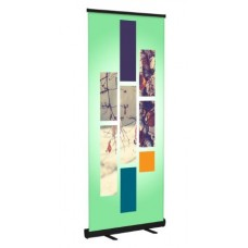 Banner Stand (Black)