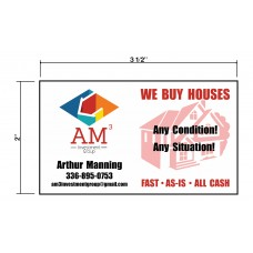 AM3 Investments Biz Cards Front