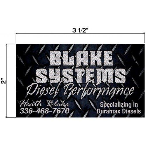 Blake Systems Biz Cards Front