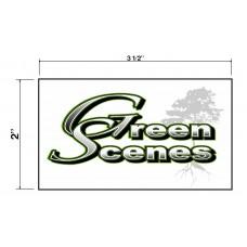 Green Scenes Biz Cards Front