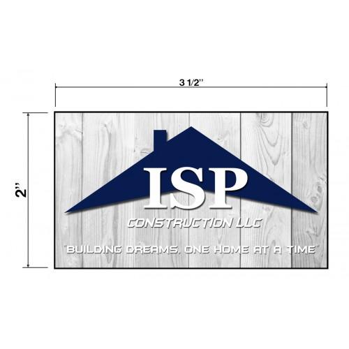 ISP Construction Biz Cards Front