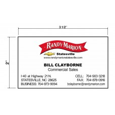 Randy Marion Biz Cards Front