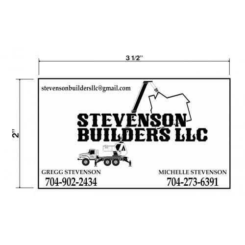 Stevenson Builders Biz Cards Front
