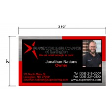 Superior Insurance Biz Cards Front