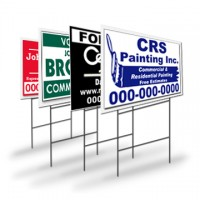 Corrugated Plastic Yard Sign