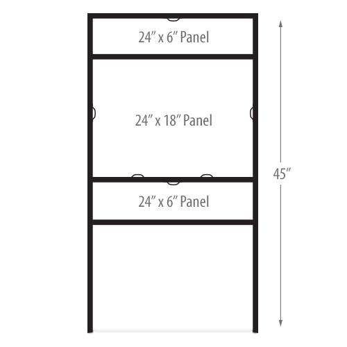 24in x 18in metal sign frame - Metal Sign Frames