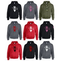 G18500 Uni-Sex Iredell United Bandits Hoodie - Multi Color Options