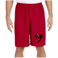 "M6707 9"" Mesh Player Short"