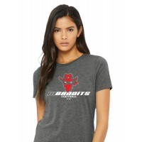 BC6400 Dark Grey Heather Ladies Iredell United Bandits