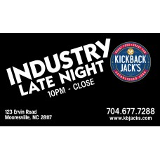 KBJs Industry Late NIght Program Cards 500 C1S UV Front