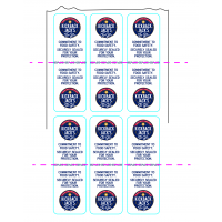Security Seal Roll Labels