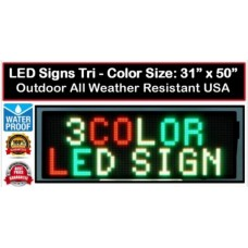 LED Sign 15mm 31x50