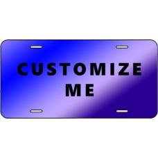 Acrylic Mirror License Tags