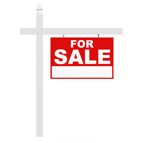 single arm sign post creative sign solutions inc