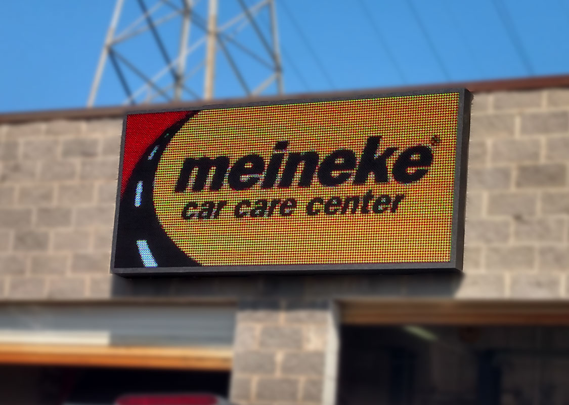 Meineke 15 degree angle